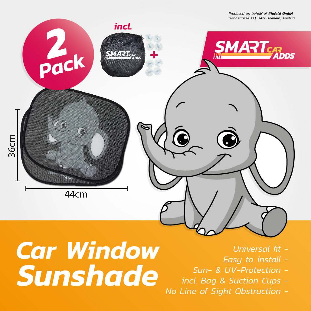 sunshade elephant. Black Bedroom Furniture Sets. Home Design Ideas